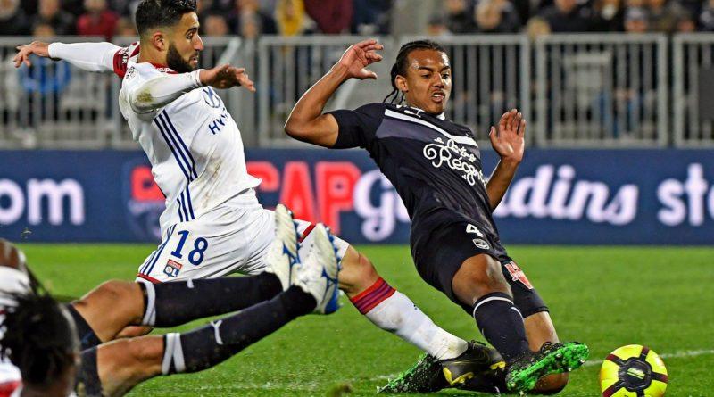 Nabil Fekir, face à Bordeaux le vendredi soir (3-2)