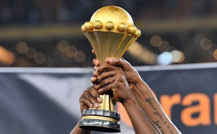 Le trophé de la Coupe d'Afrique des Nations