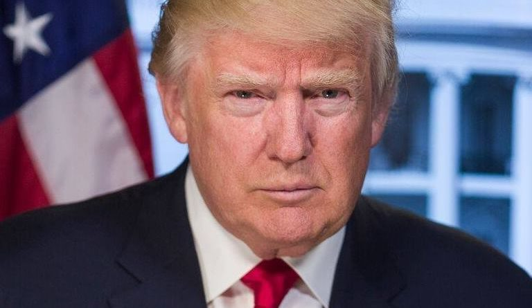Donald Trump en janvier 2017