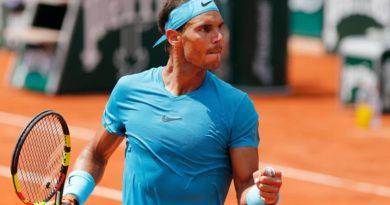 Rafael Nadal, lors de Roland Garros en juin 2018