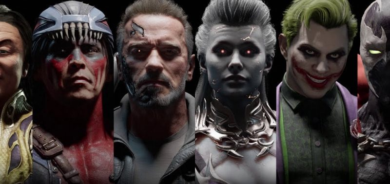 Personnages de Mortal Kombat XI