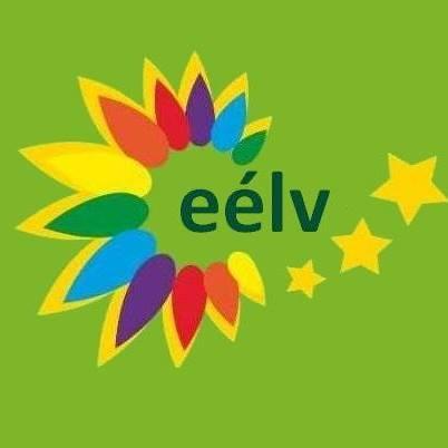 Logo du parti EELV (Europe-Ecologie-Les Verts).